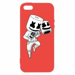 Чехол для iPhone5/5S/SE DJ marshmallow 1