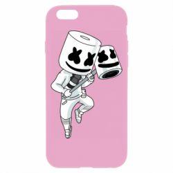Чехол для iPhone 6/6S DJ marshmallow 1