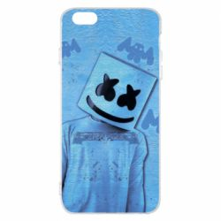 Чехол для iPhone 6 Plus/6S Plus Dj Marshmello 2 - FatLine