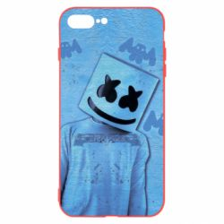 Чехол для iPhone 7 Plus Dj Marshmello 2 - FatLine