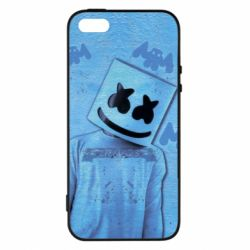 Чехол для iPhone5/5S/SE Dj Marshmello 2 - FatLine