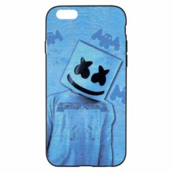 Чехол для iPhone 6/6S Dj Marshmello 2 - FatLine