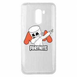 Чехол для Xiaomi Pocophone F1 Dj Marshmello fortnite dab - FatLine