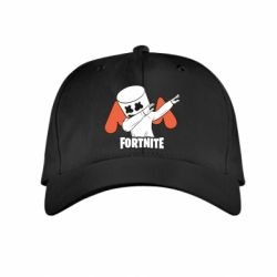 Детская кепка Dj Marshmello fortnite dab - FatLine