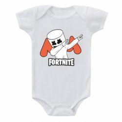 Детский бодик Dj Marshmello fortnite dab - FatLine