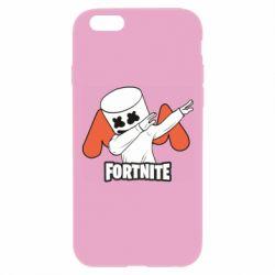 Чехол для iPhone 6 Plus/6S Plus Dj Marshmello fortnite dab - FatLine