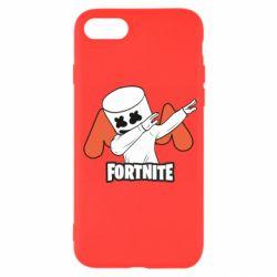 Чехол для iPhone 7 Dj Marshmello fortnite dab - FatLine