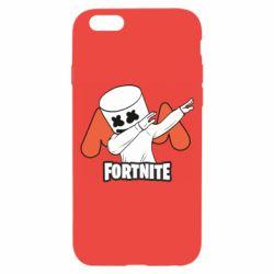 Чехол для iPhone 6/6S Dj Marshmello fortnite dab - FatLine