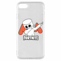 Чехол для iPhone 8 Dj Marshmello fortnite dab - FatLine