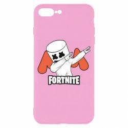 Чехол для iPhone 8 Plus Dj Marshmello fortnite dab - FatLine