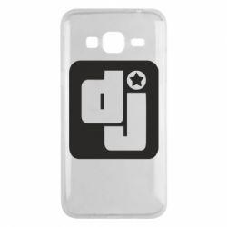 Чехол для Samsung J3 2016 DJ star - FatLine