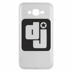 Чехол для Samsung J7 2015 DJ star - FatLine