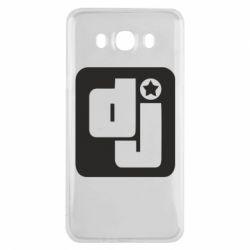 Чехол для Samsung J7 2016 DJ star - FatLine