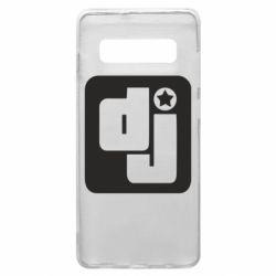 Чехол для Samsung S10+ DJ star