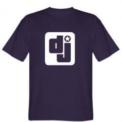 Мужская футболка DJ star - FatLine