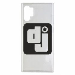 Чехол для Samsung Note 10 Plus DJ star
