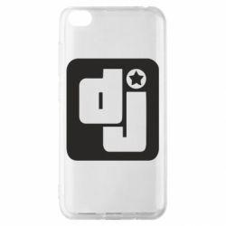 Чехол для Xiaomi Redmi Go DJ star