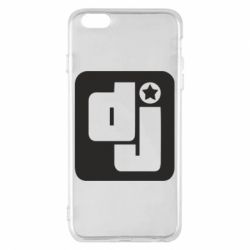 Чехол для iPhone 6 Plus/6S Plus DJ star - FatLine