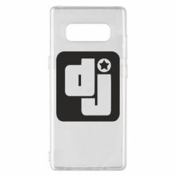 Чехол для Samsung Note 8 DJ star - FatLine