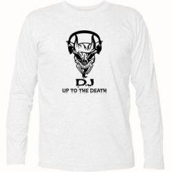 Футболка с длинным рукавом Dj Up to the Dead - FatLine