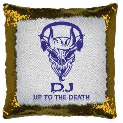 Подушка-хамелеон Dj Up to the Dead