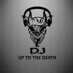 Наклейка Dj Up to the Dead - FatLine