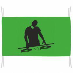 Флаг Dj за работой