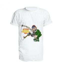 Подовжена футболка Для риболовлі мало пристрасті - потрібні правильні снасті