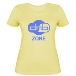 Женская футболка DnB Zone - FatLine