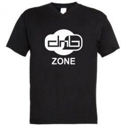 Мужская футболка  с V-образным вырезом DnB Zone - FatLine
