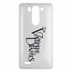 Чехол для LG G3 mini/G3s Дневники Вампира Лого - FatLine