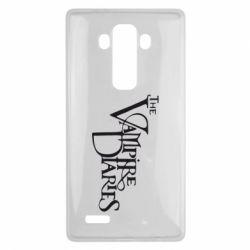 Чехол для LG G4 Дневники Вампира Лого - FatLine