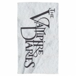 Полотенце Дневники Вампира Лого - FatLine
