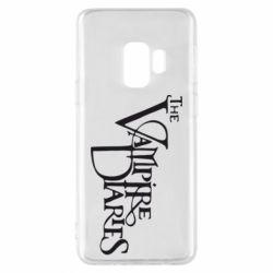 Чехол для Samsung S9 Дневники Вампира Лого - FatLine