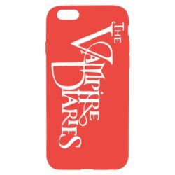 Чехол для iPhone 6/6S Дневники Вампира Лого - FatLine