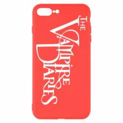 Чехол для iPhone 7 Plus Дневники Вампира Лого - FatLine
