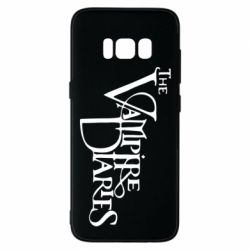 Чехол для Samsung S8 Дневники Вампира Лого - FatLine