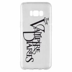 Чехол для Samsung S8+ Дневники Вампира Лого - FatLine