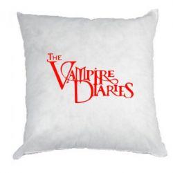 Подушка Дневники Вампира Лого - FatLine