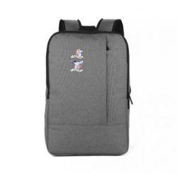 Рюкзак для ноутбука До и После Вина Единорог