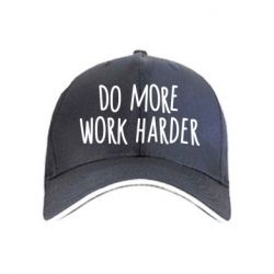 Кепка Do more Work harder