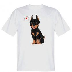 Футболка Doberman Puppy