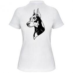 Женская футболка поло Doberman