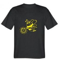Мужская футболка Добрая пчелка - FatLine