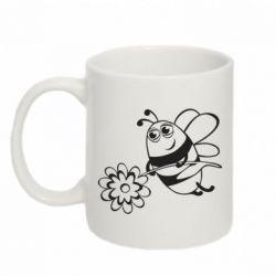 Кружка 320ml Добрая пчелка - FatLine