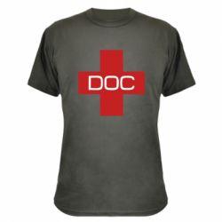 Камуфляжна футболка DOC