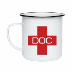 Кружка емальована DOC