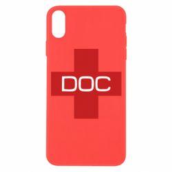 Чохол для iPhone X/Xs DOC
