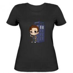 Жіноча футболка Doctor who is 10 season2