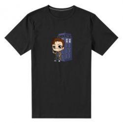 Чоловіча стрейчева футболка Doctor who is 10 season2